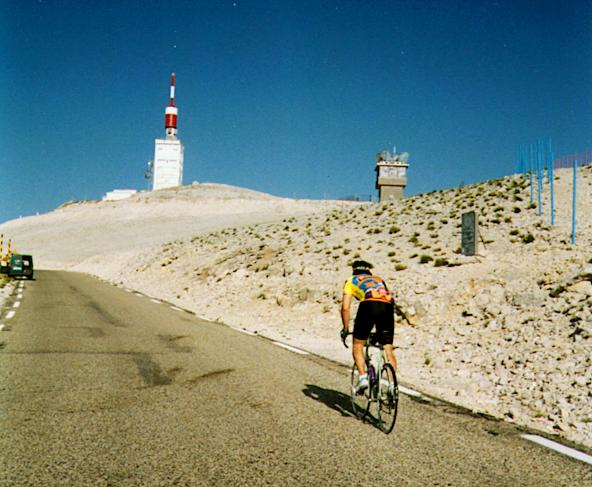 Photo: Mont Ventoux by Bruno Reinhard